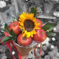 Букет «Яблочное солнышко»