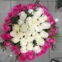 Букет из роз «Величие любви»
