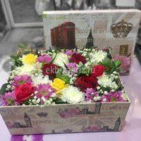 Коробка с цветами «Flower Box»